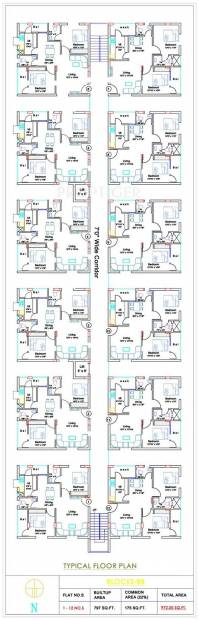 Images for Cluster Plan of Hi Tech Hi Tech Heaven