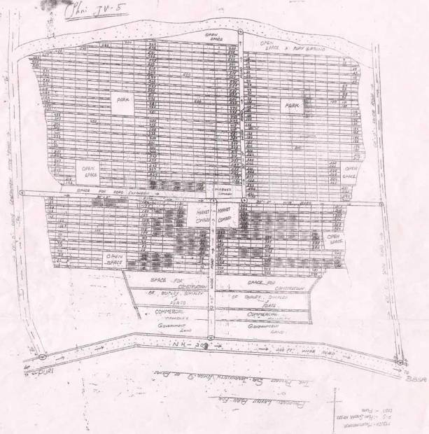 Images for Layout Plan of SRB Sri Jagannath Vihar V