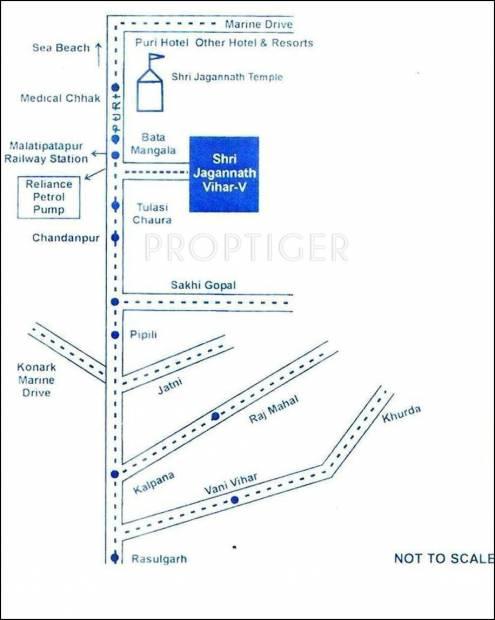 Images for Location Plan of SRB Sri Jagannath Vihar V