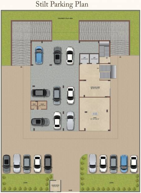 Images for Cluster Plan of Pearl Legacy