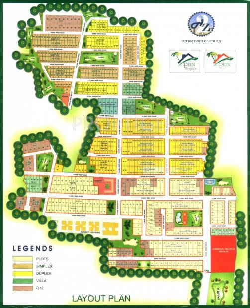 A2Z Builders Green Height Apartment Master Plan