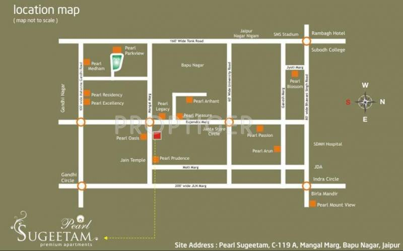 Images for Location Plan of Pearl Sungeetam