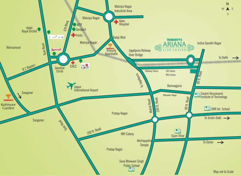 Images for Location Plan of Trimurty Ariana