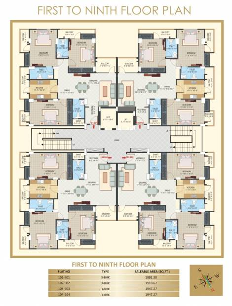 Images for Cluster Plan of SNG Shree Ratna