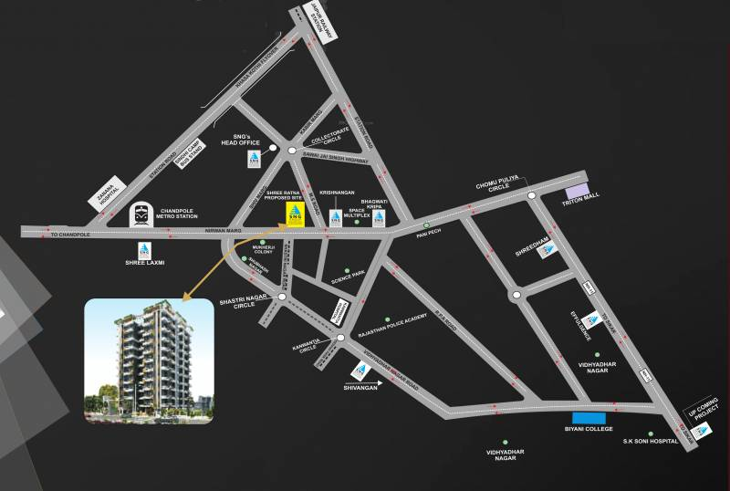 Images for Location Plan of SNG Shree Ratna