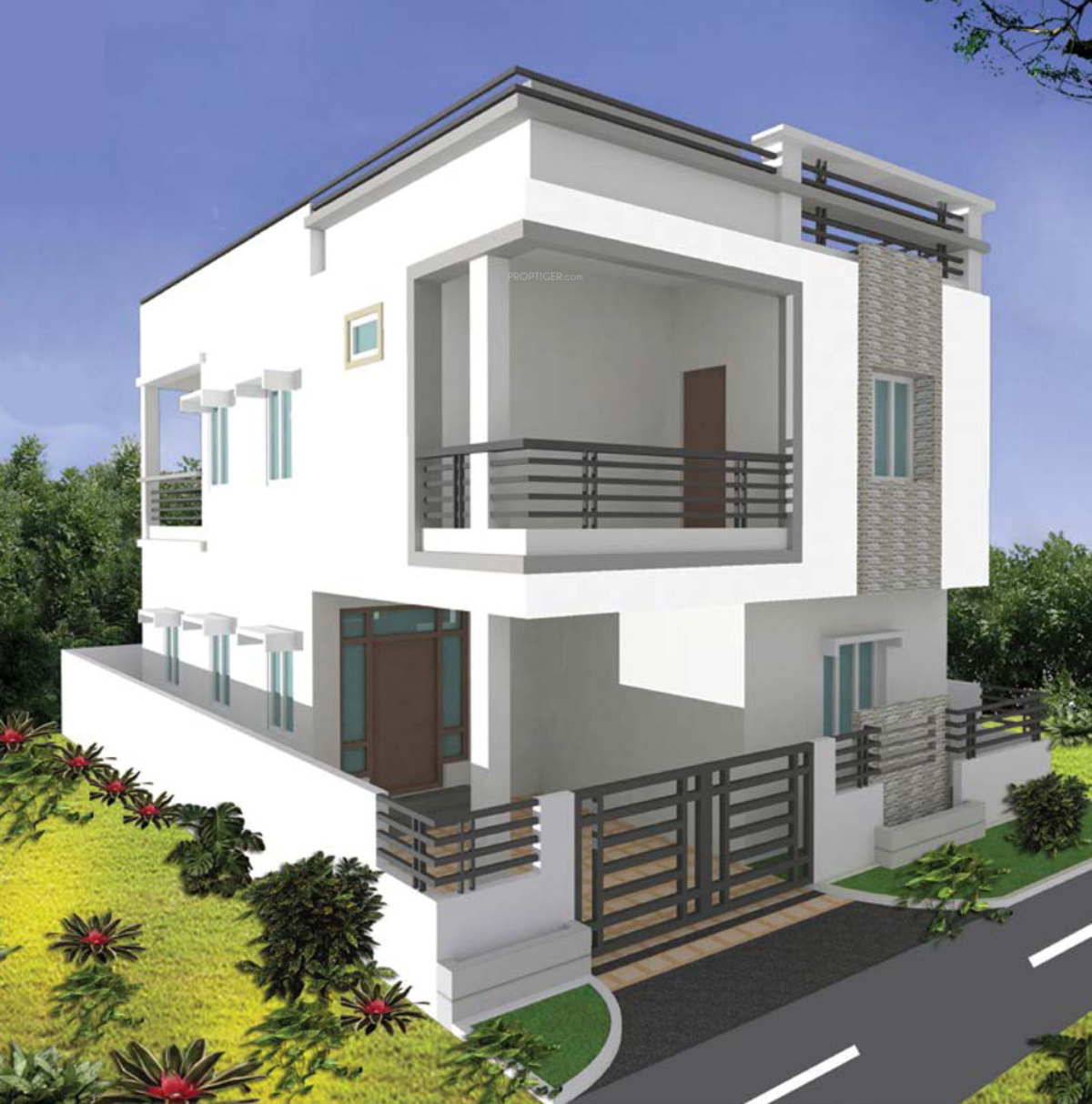 Home Builder Floor Plans 2115 Sq Ft 3 Bhk 3t Villa For Sale In Sri Supraja Infracon
