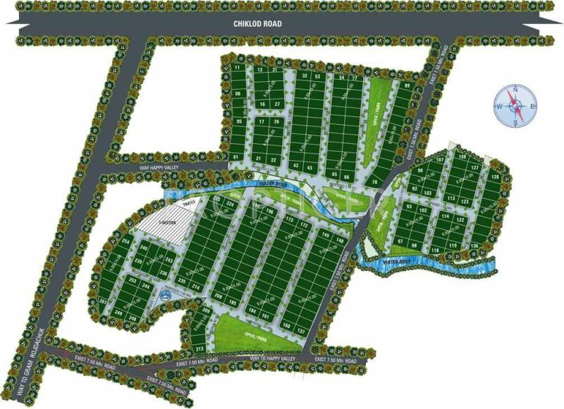 Images for Layout Plan of Lakshya Happy Valley