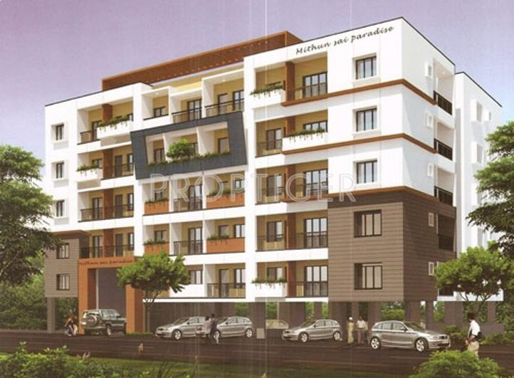 Mahaghar Properties Mithun Sai Paradise View Elevation