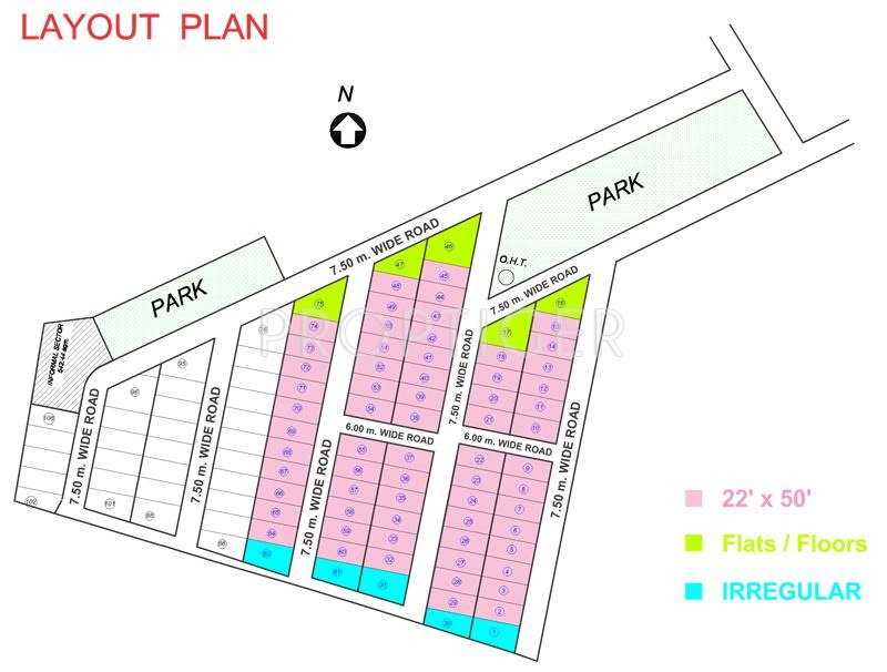 Images for Layout Plan of Surabhi Avenue
