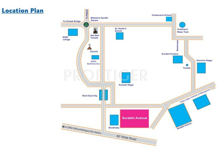 Images for Location Plan of Surabhi Avenue