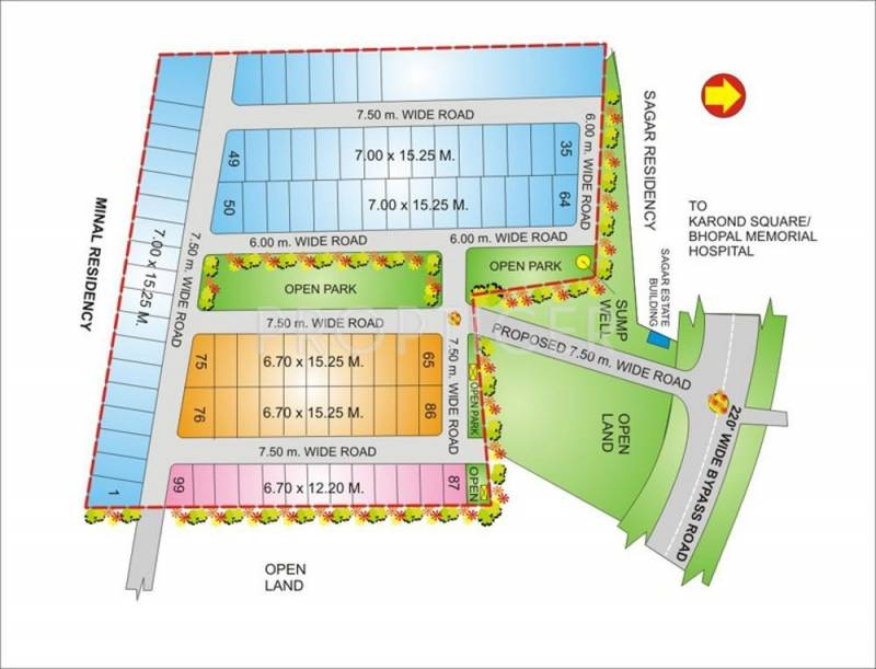 Images for Layout Plan of Geet Ganesh Villa