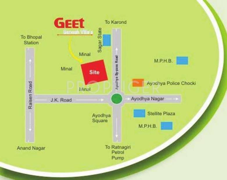 Images for Location Plan of Geet Ganesh Villa