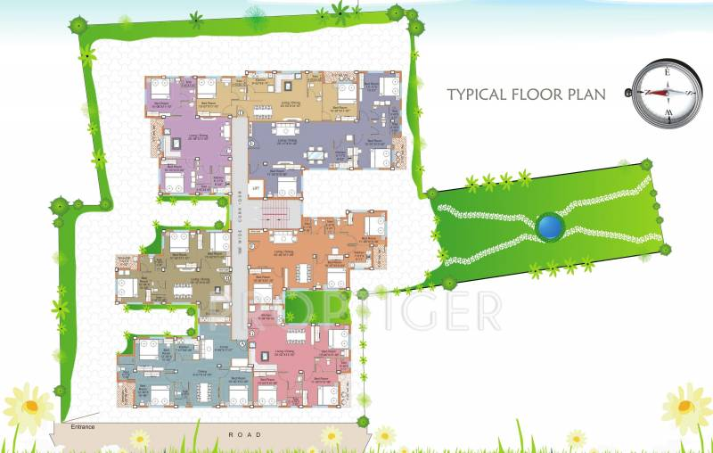 Images for Cluster Plan of Starlite Group Sunny Divine