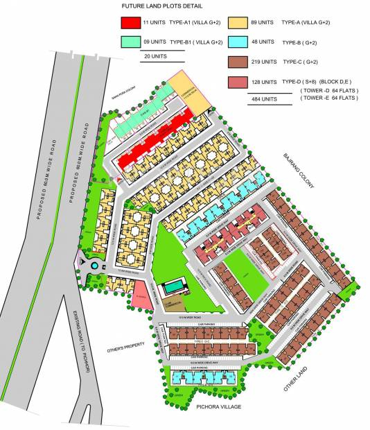 Images for Layout Plan of Ansal Palm Court Villa