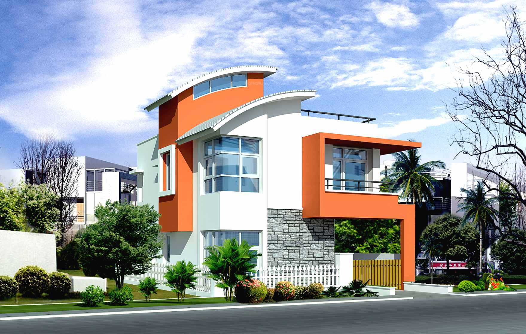 1850 Sq Ft 3 Bhk 3t Villa For Sale In Jr Garden Retreat