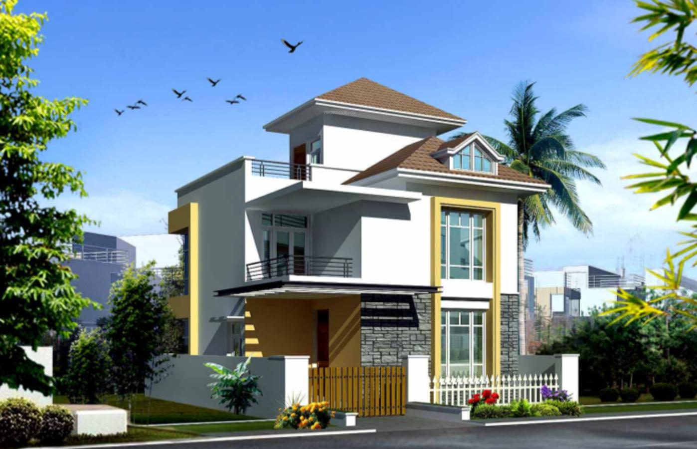 1400 Sq Ft 3 Bhk 3t Villa For Sale In Jr Garden Retreat