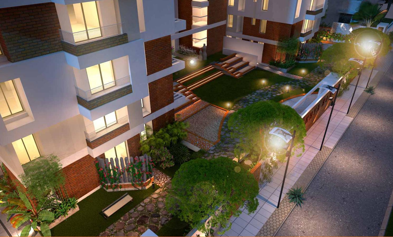 Main Elevation Image 4 of alekhya homes Wind Chimes Unit available