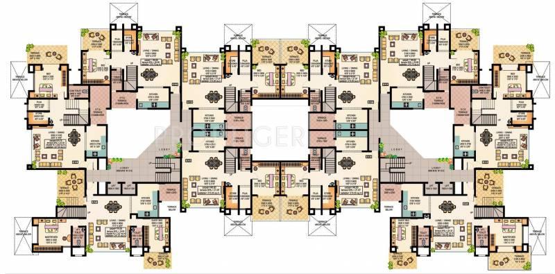 Images for Cluster Plan of Vishwakarma Park Phase 2