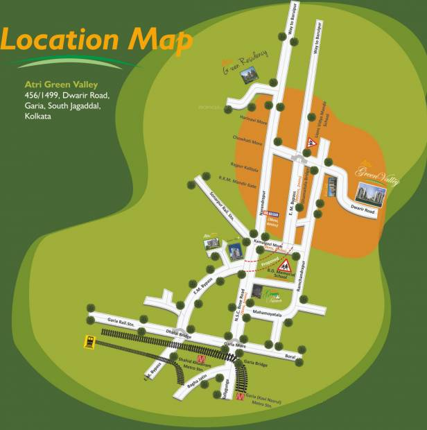 Images for Location Plan of Atri Green Valley