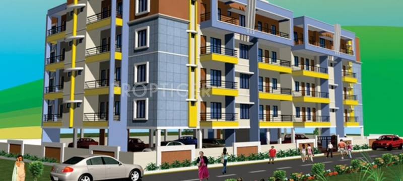 mahaveer-apartment Elevation
