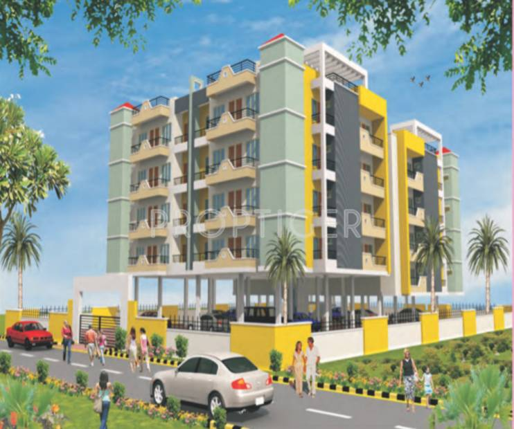 shriram-colonizers-and-developers ruj-apartments Elevation