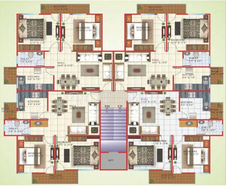 Images for Cluster Plan of Shriram Kruti Parisar