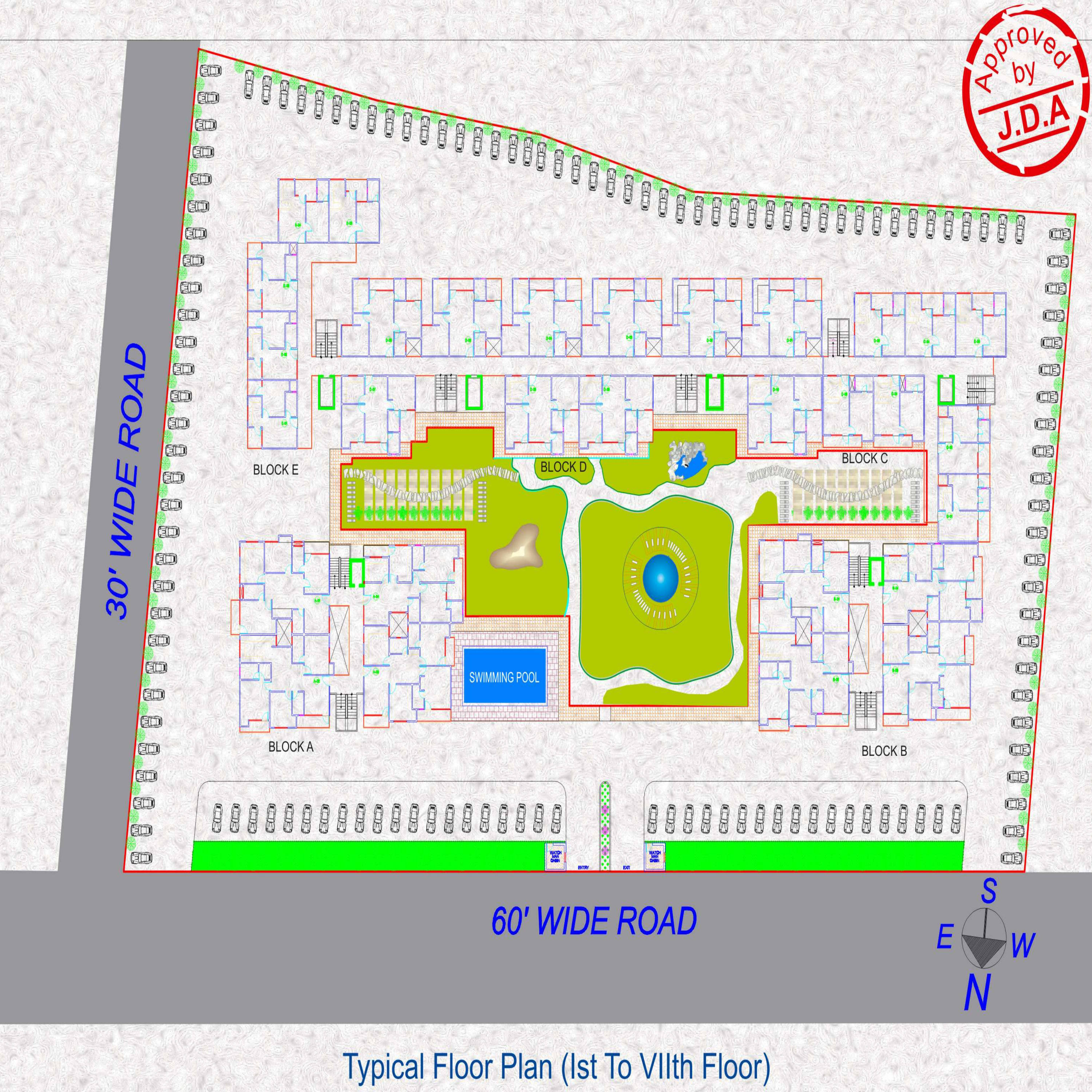 Sq ft bhk t apartment for sale in ipg group sez