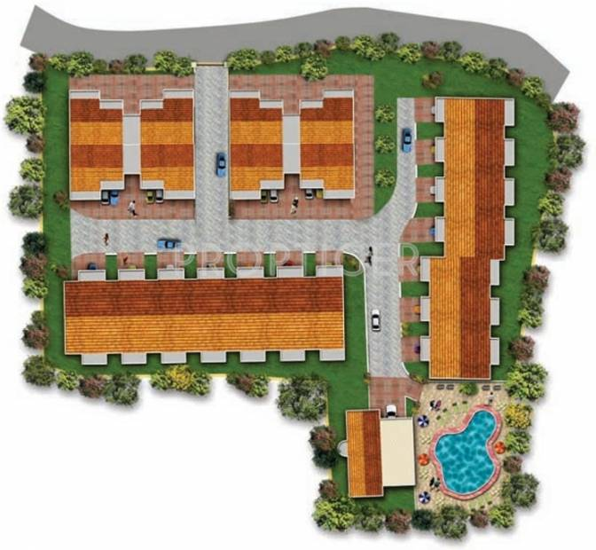 Images for Layout Plan of Asian Exotica Apartments