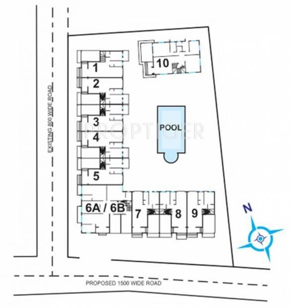 Images for Layout Plan of Saldanha Bougain Villas