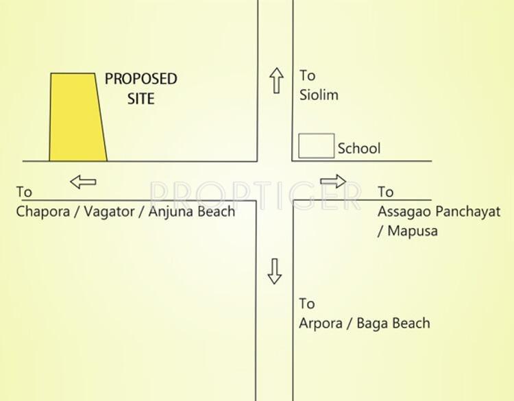 Images for Location Plan of Saldanha Bougain Villas