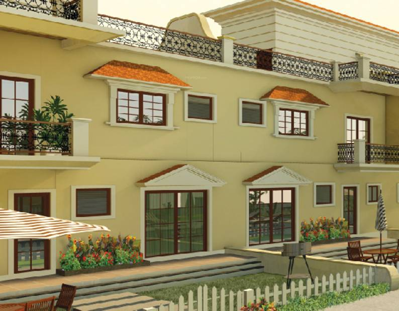 Images for Elevation of Saldanha Bougain Villas