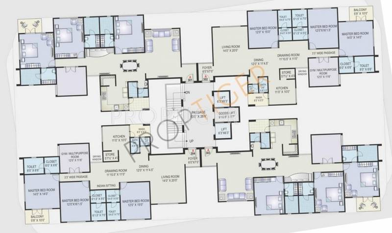 Images for Cluster Plan of Ravani Dream Home