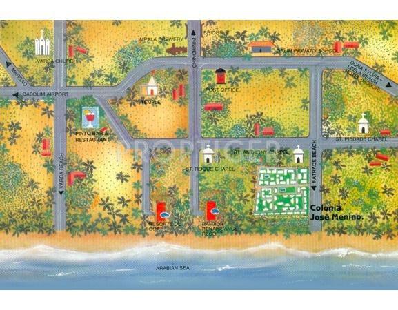 Images for Location Plan of Saldanha Colonia Jose Menino Apartment