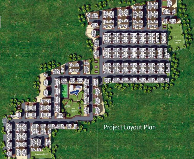 Images for Layout Plan of Pratham Residency
