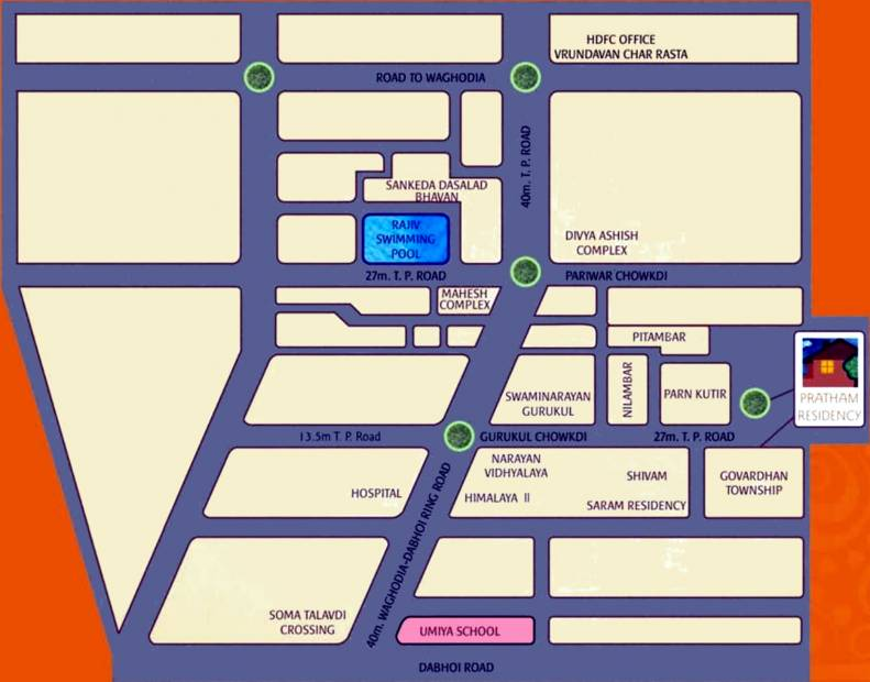 Images for Location Plan of Pratham Residency