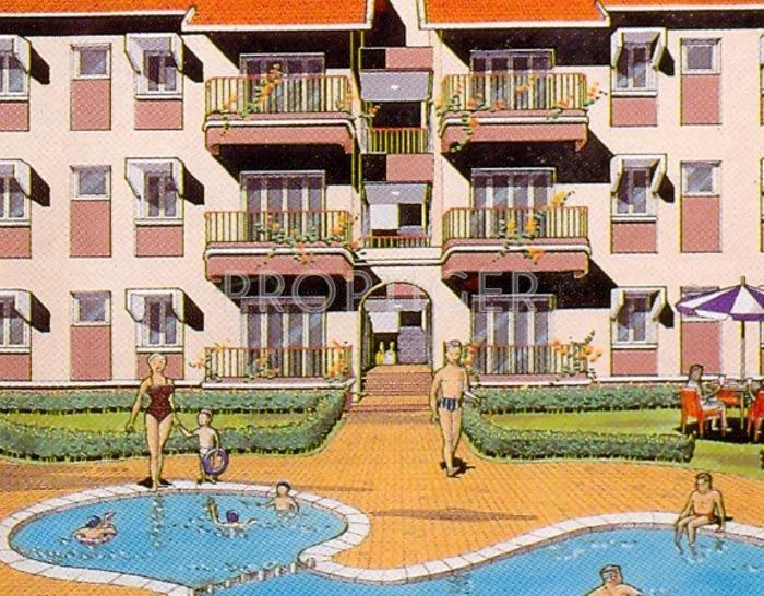 Resort Elevation Plan : Saldanha mariano gracinda resort in saligao goa price