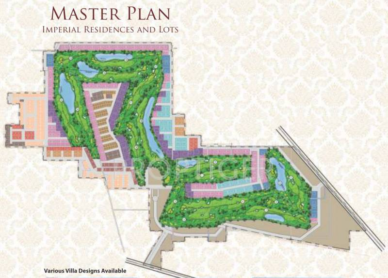 emerald-lands-india-pvt-ltd the-imperial-residency Master Plan
