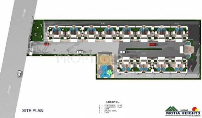 heights Images for Site Plan of Motia Heights
