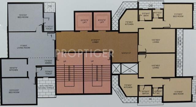 Images for Cluster Plan of Koteshwar Amrut Darshan