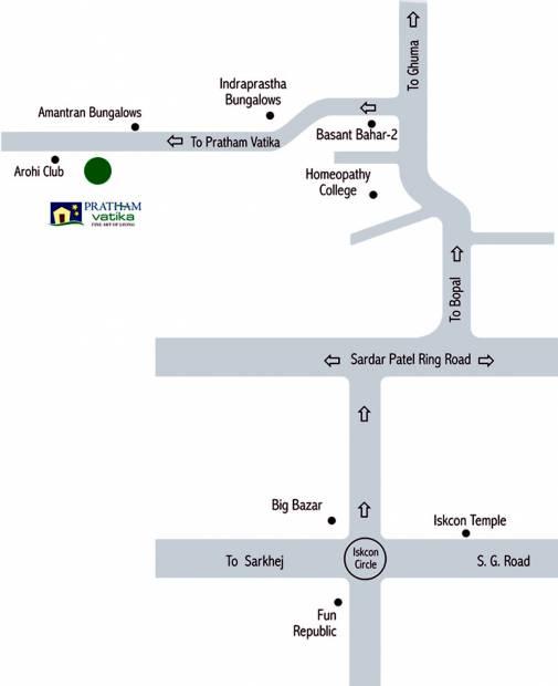 vatika Images for Location Plan of Pratham Vatika