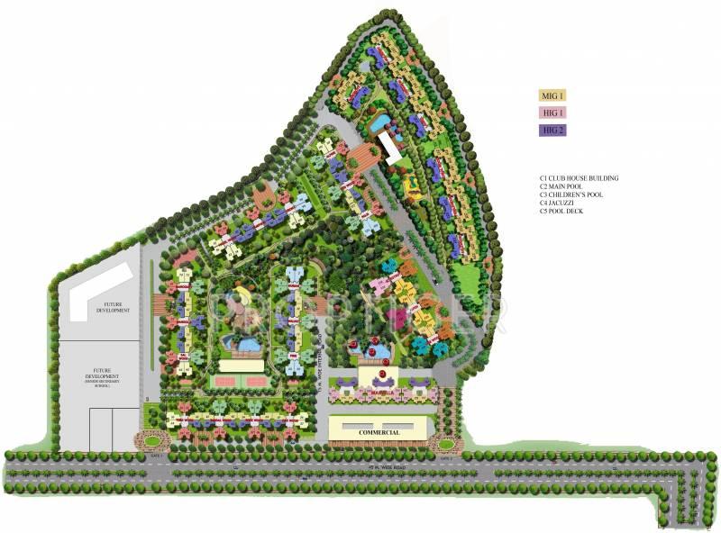 Images for Master Plan of Mahagun Marvella