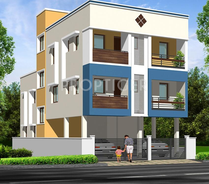 Kitchen Floor Plans And Elevations: 760 Sq Ft 2 BHK 2T Apartment For Sale In Sowbhagya Homes