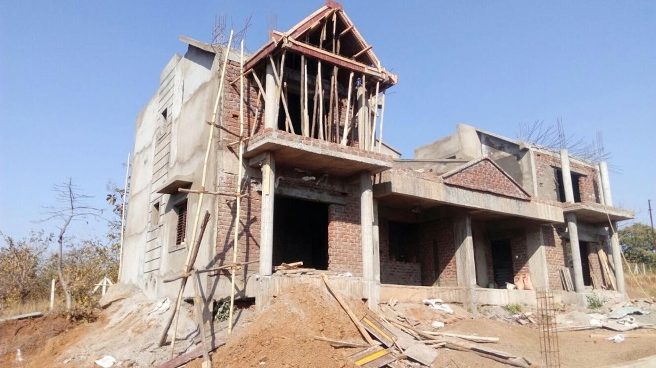 1300 sq ft 2 bhk 2t villa for sale in montag greens villas for Construction villa