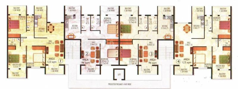 Images for Cluster Plan of Talak Constructions Silver Residency