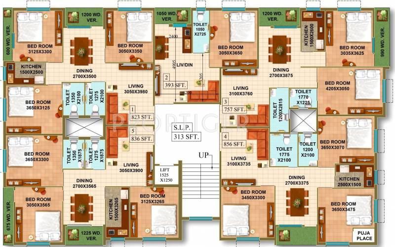 Ambey Group Vatika Cluster Plan