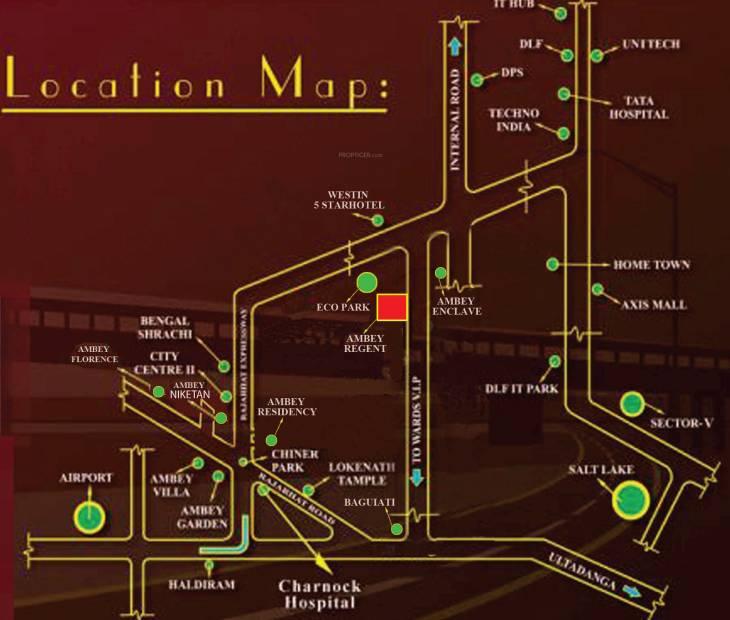 vatika Location Plan