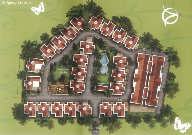 Images for Layout Plan of Talak Madhuban Villas