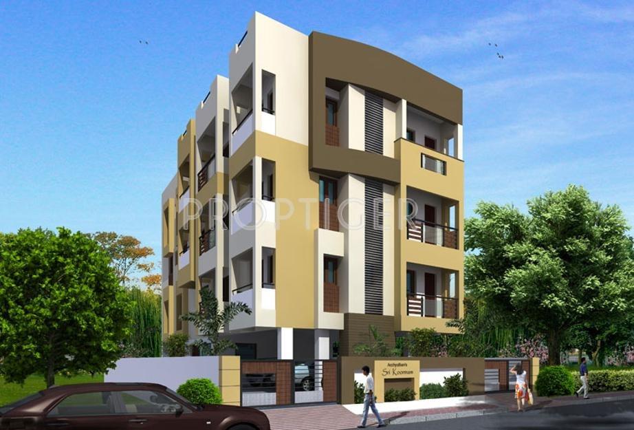 1 2 3 Bhk Cluster Plan Image Acchyuthan Sri Koormam