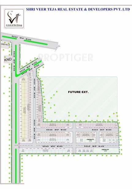 Images for Layout Plan of SVT ORB Vastu Vihar