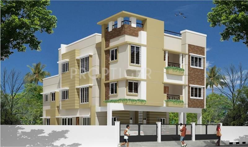 Images for Elevation of Aavaasa Builders krishnashrey